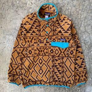 🐆 Rare Patagonia Synchilla Snap Fleece (Sz M)